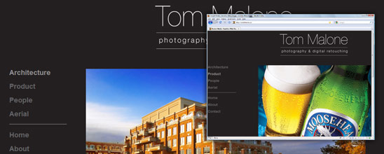 Tom Malone Photography & Digital Retouching